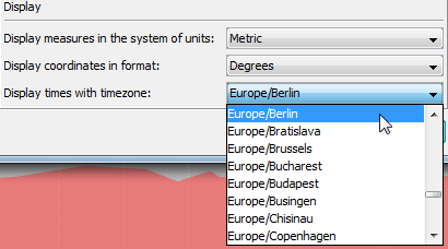 Timezone Display Formats
